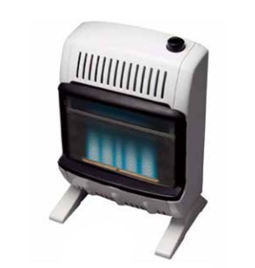 Heatstar HSSVFBF20LPT 20000 BTU Vent Free Blue Flame Heater with Thermostat - Liquid Propane