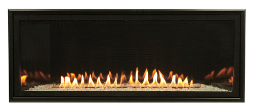 Empire VFLB48FP30 Boulevard Contemporary Vent Free Linear Fireplace with Millivolt Burner, Choice of Fuel Type