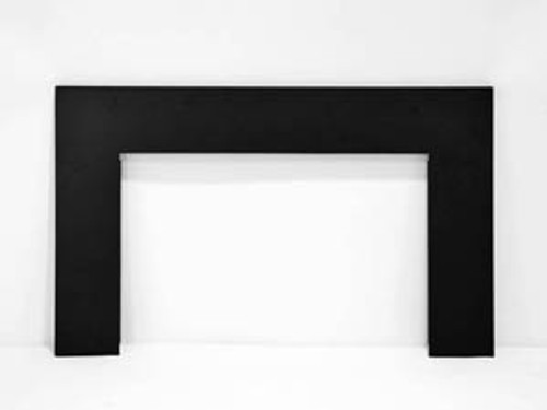 Amantii TRD3 3-Sided Black Metal Trim Kit for TRD Electric Fireplace