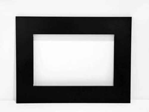 Amantii TRD4 4-Sided Black Metal Trim Kit for TRD Electric Fireplace