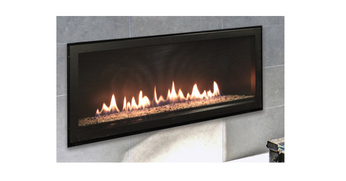 "White Mountain Hearth DVLL48BP92P 48"" Boulevard Contemporary Zero Clearance Direct Vent Fireplace - Liquid Propane"