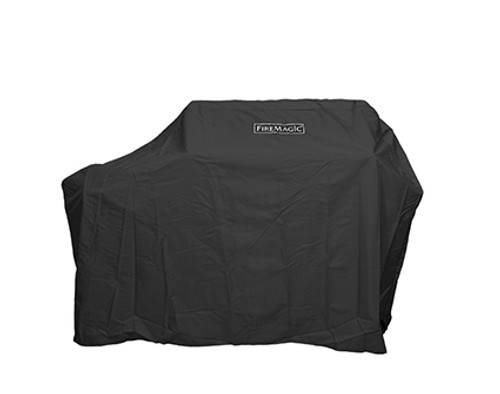 Fire Magic 5125-20F Grill Cover for Aurora A430s Portable and Post Mount Grills - Side Shelves Up