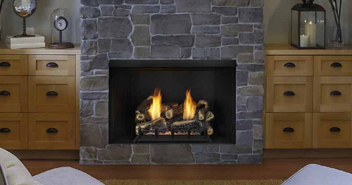 Monessen BUF42 Vent-Free Exacta Firebox - Black Interior