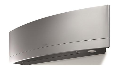 Daikin FTXR12TVJUS 12000 BTU Emura Indoor Wall Unit - Heat and Cool - Silver
