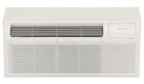 Hotpoint AH11H12D3B 12000 BTU PTAC Air Conditioner with Heat Pump - 20 Amp - 208/230 Volt