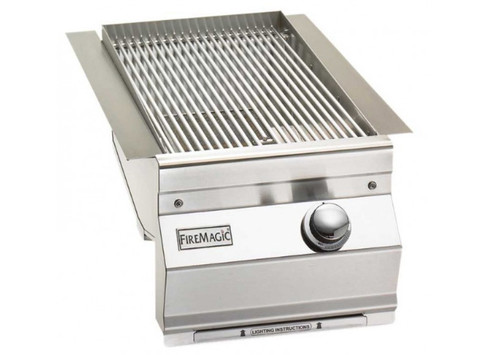 Fire Magic 32877-1P Aurora-Style Built-In Single Searing Station/Sideburner - Liquid Propane