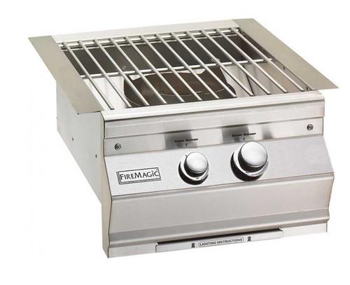 Fire Magic 19-7B1N-0 Built-In Aurora Style Power Burner - Natural Gas