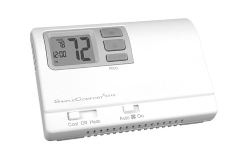 ICM SC3010L Simple Comfort Single Stage Heat/Cool Programmable Thermostat
