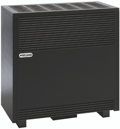 Williams Furnace Company 650192A 65,000 BTU Vented Hearth Heater with Enclosed Front and Factory Installed Blower