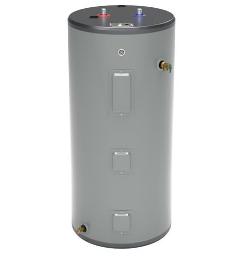GE GE50S08BAM 50 Gallon Short Electric Water Heater, 240 Volt/5500 Watts