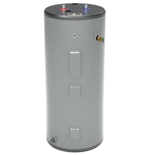 GE GE40S08BAM 40 Gallon Short Electric Water Heater, 240 Volt/5500 Watts