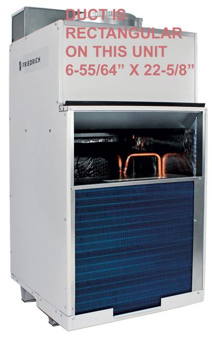 Friedrich VHA24RP Vert-I-Pak 24000 BTU Single Vertical Packaged Air System with Heat Pump (VTAC) - 11 EER - 265 Volt