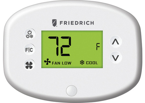 Friedrich EMRT2 Energy Management Wired Digital Remote Wall Thermostat with Occupancy Sensor - Non Programmable