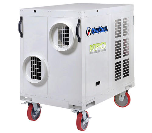 Kwikool KPO5-23 60,000 BTU Indoor/Outdoor High Static Portable Air Conditioner - 230 Volt/3 Phase