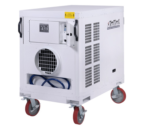 Kwikool KPO5-43 60,000 BTU Indoor/Outdoor High Static Portable Air Conditioner - 460 Volt/3 Phase