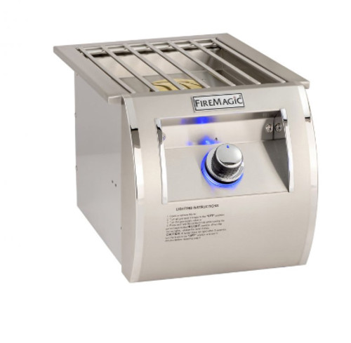 Fire Magic 32795-1N Built-In Echelon Diamond Single Side Burner - Natural Gas