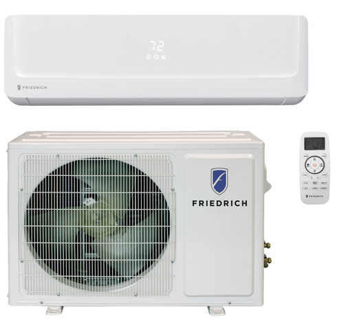 Friedrich FPHW183A 18000 BTU Floating Air Pro Series Single Zone Mini Split with Built-In WiFi - Heat and Cool - Energy Star