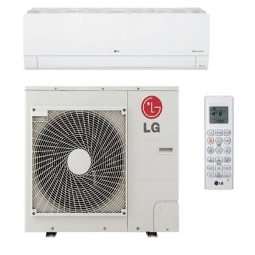 LG LS243HLV3 24000 BTU Class High Efficiency WiFi Accessible Single Zone Mini Split System with Extended Pipe - Energy Star