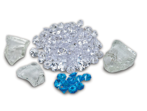 Amantii Fi-109-DIAMOND Fire & Ice Decorative Media (Combination Pack 4)