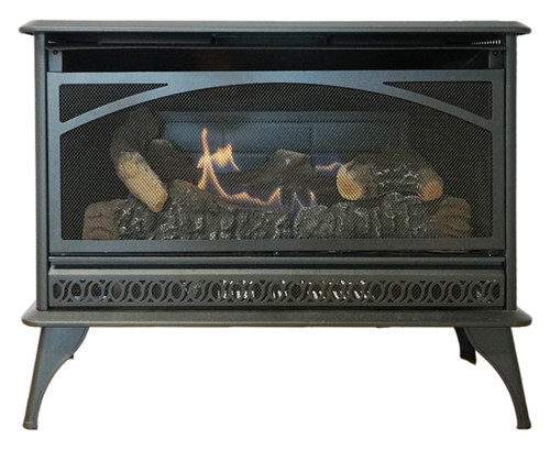 Hearthrite HRSQ25MV Vent Free Gas Stove with Manual Control and Log Set