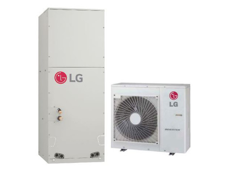 LG LV181HHV4 18000 BTU 1.5 Ton LGRed Single Zone Mini-Split System with Multi-Position Air Handler - Heat and Cool - Energy Star