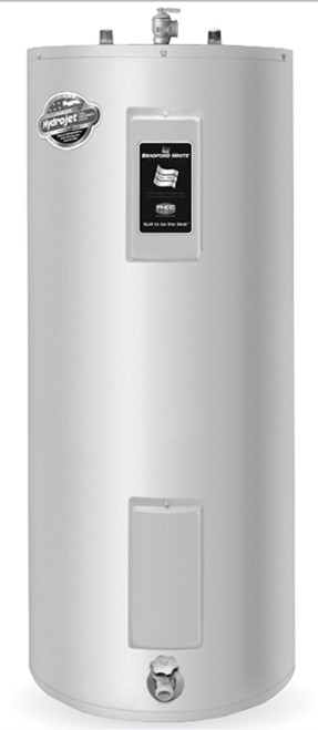 Bradford White RE250T6 50 Gallon Upright Electric Water Heater, 240 Volt/4500 Watts