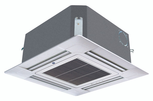 GE AB09SC2VHA / PB-700IB 9000 BTU Endure Multi Zone Ceiling Cassette with Grille Cover - Heat and Cool - 208/230V