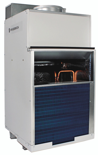 Friedrich VHA18K25RTP Vert-I-Pak 18000 BTU Class Single Vertical Packaged Air System with Heat Pump - 11 EER - 15 Amp