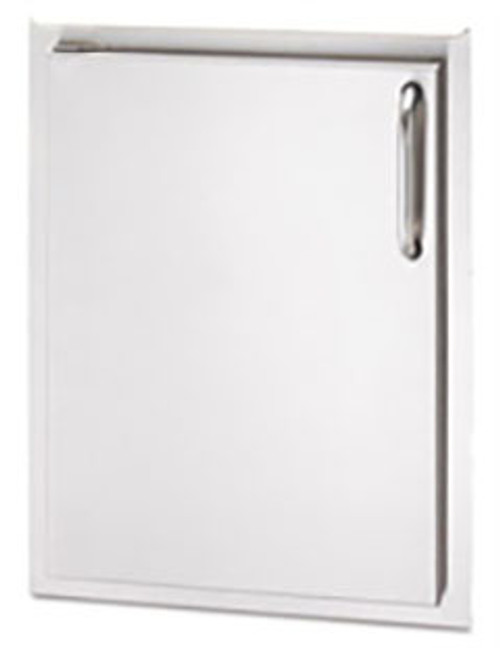 """American Outdoor Grill 20-14-SSDL 20"""" x 14"""" Single Storage Door with Left Hinge"""