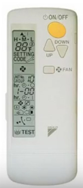Daikin BRC082A42W Wireless Remote for Vista Ceiling Cassette