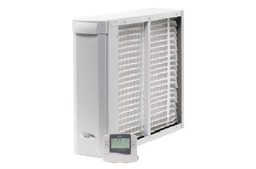 "Aprilaire 3410 3000 Series Whole-Home Air Cleaner with Event-Based Thermostat - 16"" x 25"" Filter"