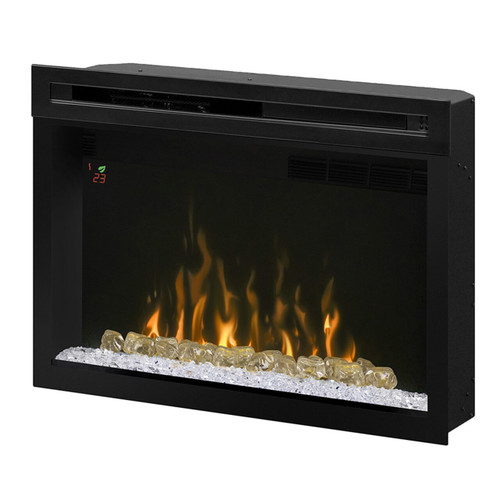 "Dimplex PF2325CG 25"" Multi-Fire XD Electric Firebox with Curved Glass Front"