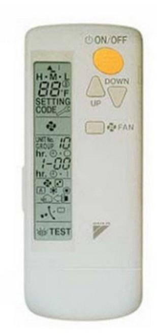 Daikin BRC7E818 Wireless Remote Controller