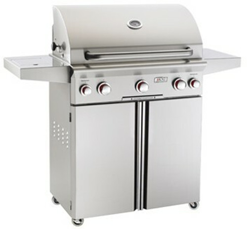 """American Outdoor Grill 30PCT 30"""" Portable/Freestanding Liquid Propane Grill with Rotisserie"""