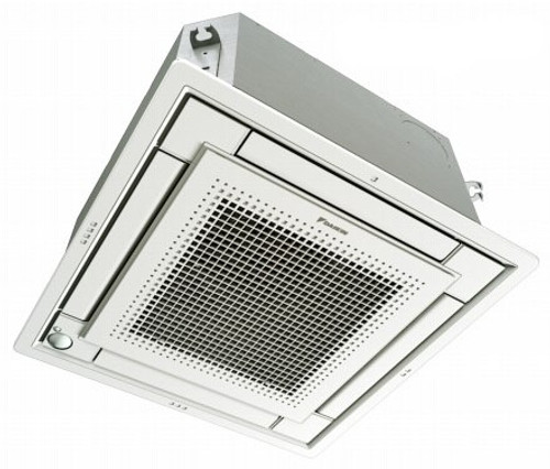 Daikin FFQ12Q2VJU 12000 BTU Vista Ceiling Cassette Unit with White Grille - Controller Required