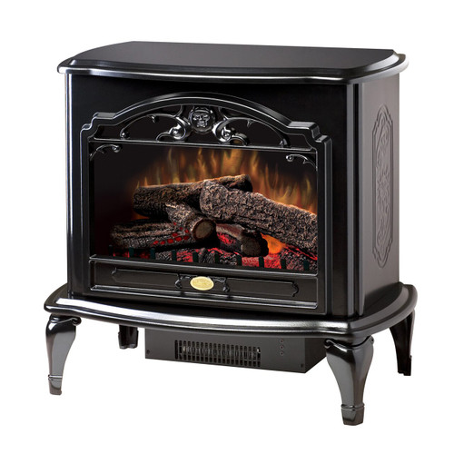 Dimplex TDS8515TB Celeste Electric Stove with Log Set - Black