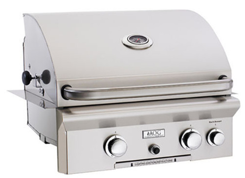 """American Outdoor Grill 24NBT 24"""" Built-In Natural Gas Grill with Rotisserie"""