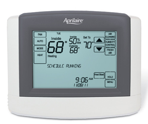Aprilaire MODEL 8620 Thermostat with Humidity Control