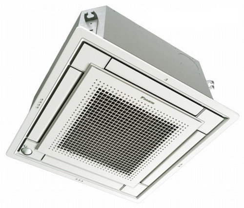 Daikin FFQ15Q2VJU 15000 BTU Ceiling Cassette Unit with White Grille - Controller Required