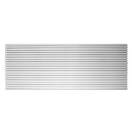 Amana AGK01WB Aluminum Architectural Grille - White. A grille is required for new installations.