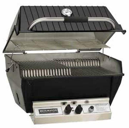 Broilmaster P4XN Medium Premium Gas Grill Head - Natural Gas