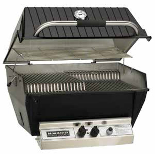 Broilmaster P4XN Medium Premium Gas Grill Head - Natural Gas