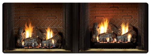 "White Mountain Hearth LR-18  2"" Log Riser for Slope Glaze Vented/Vent Free Burners"