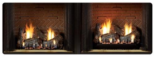 "White Mountain Hearth LR-18  2"" Log Riser for Slope Glaze Vented/Vent Free Burners"