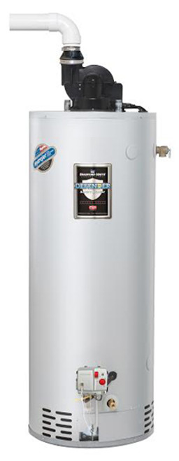 Bradford White RG2PV40S6N 40 Gallon, Power Vent Water Heater, Natural Gas