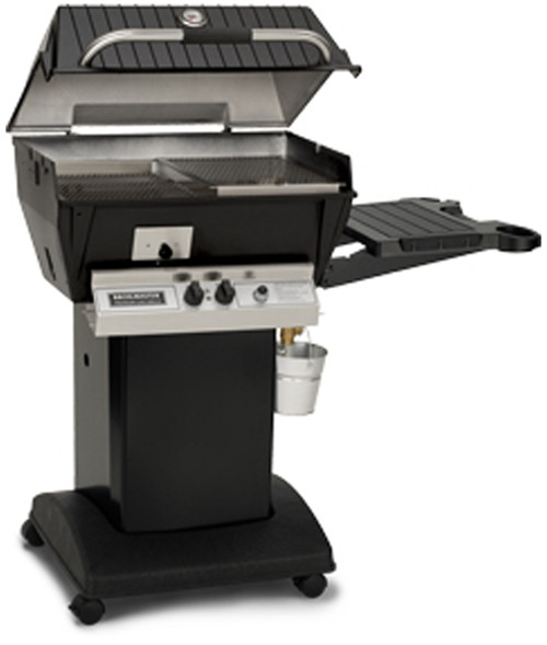 Broilmaster Q3PK1 Qrave Gas Grill with Cart Base - Liquid Propane