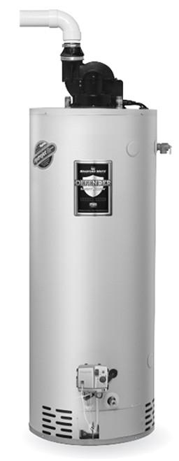 Bradford White RG2PV75S6X 75 Gallon, Power Vent Water Heater, Liquid Propane