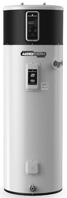 Bradford White RE2H80R10B-1NCWT 80 Gallon AeroTherm Heat Pump Water Heater, 240 Volt/4500 Watts