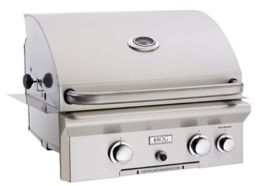 """American Outdoor Grill 24PBT 24"""" Built-In Liquid Propane Grill with Rotisserie"""
