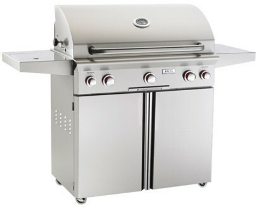 """American Outdoor Grill 36PCT 36"""" Portable/Freestanding Liquid Propane Grill with Rotisserie"""